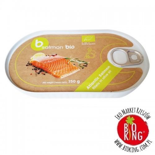 Łosoś filet w oliwie z oliwek Better Fish B Salmon