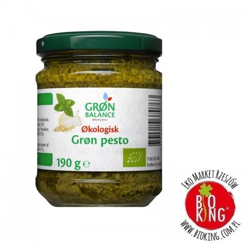 Pesto bazyliowe z orzechami nerkowca bio Gron Balance
