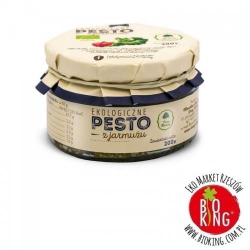 Pesto z jarmużu bio ekologiczne Dary Natury