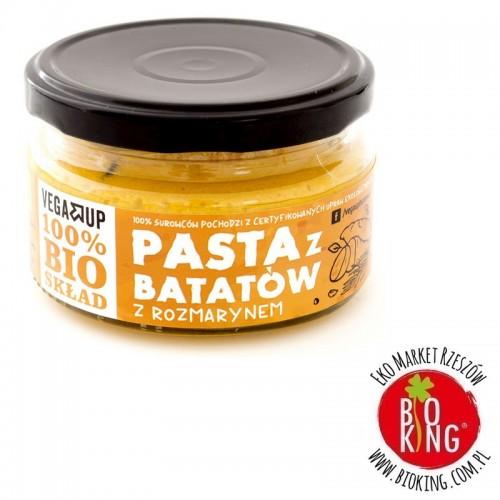 Pasta z batatów z rozmarynem bio Vega Up