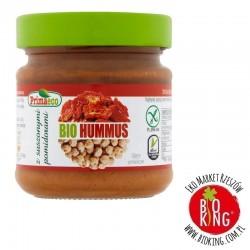 Hummus z suszonymi pomidorami bezglutenowy bio Primaeco