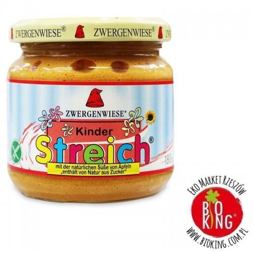 Pasta słonecznikowa dla dzieci bezglutenowa bio Zwergenwiese