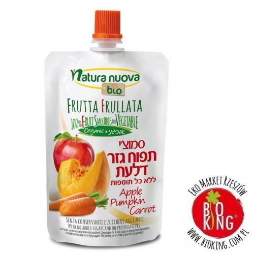 Przecier jabłko - marchew - dynia bio Natura Nuova