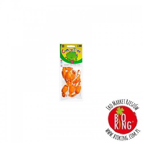 Lizaki okrągłe o smaku pomarańczowym bio Candy