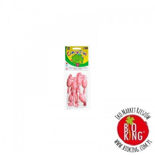 Lizaki okrągłe o smaku malinowym bezglutenowe bio Candy