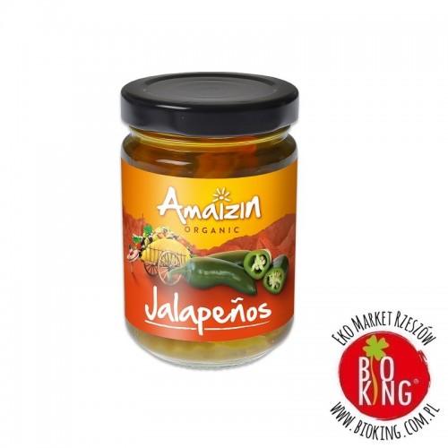 Papryczki jalapeno w zalewie bio Amaizin