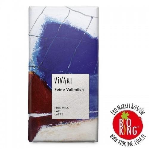 Czekolada mleczna bio ekologiczna Vivani