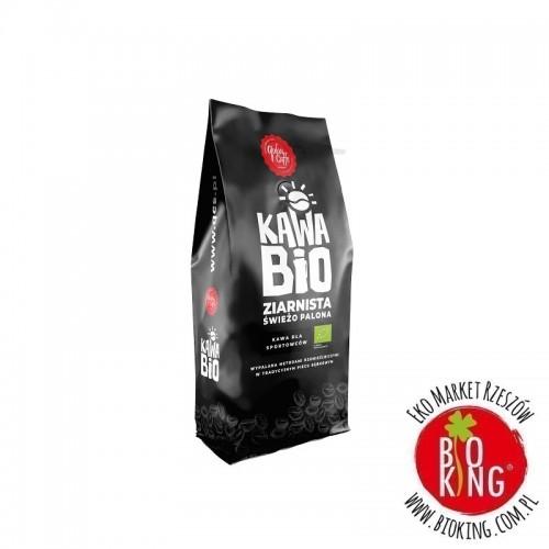 Kawa ziarnista arabica/robusta dla sportowców bio Quba Caffe