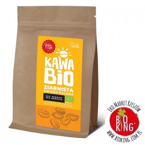Kawa ziarnista arabica/robusta mieszanka 80/20 bio Quba Caffe
