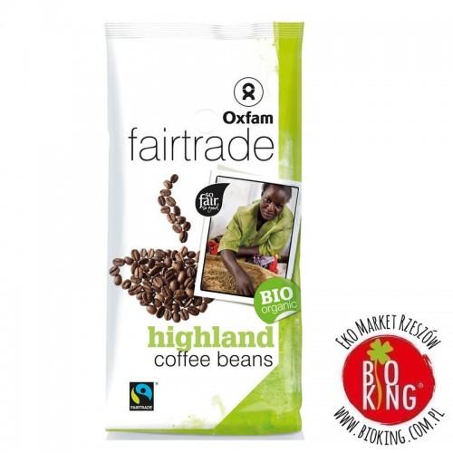 Kawa ziarnista arabica/robusta wysokogórska fair trade bio Oxfam