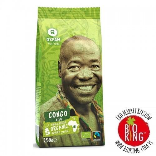 Kawa mielona arabica 100% z okolic jeziora Kivu fair trade bio Oxfam