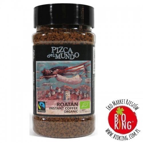 Kawa rozpuszczalna arabica/robusta roatan fair trade bio Pizca del Mundo