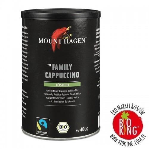 Kawa cappuccino family fair trade bio Mount Hagen