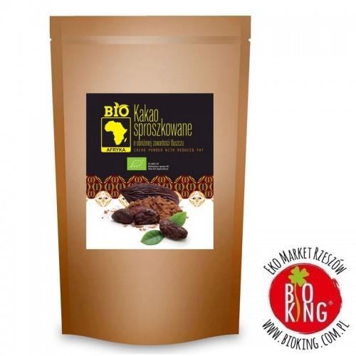 Kakao sproszkowane o obniżonej zawartości tłuszczu bio Bio Planet