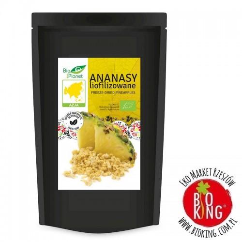 Ananasy liofilizowane bio Bio Planet