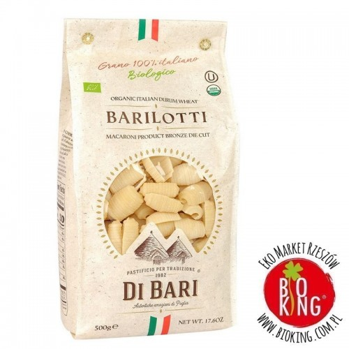 Makaron semolinowy barilotti bio Pastificio di Bari