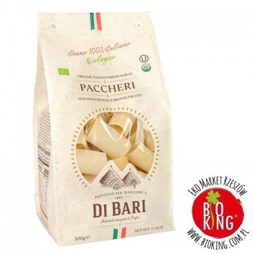 Makaron semolinowy paccheri bio Pastificio di Bari