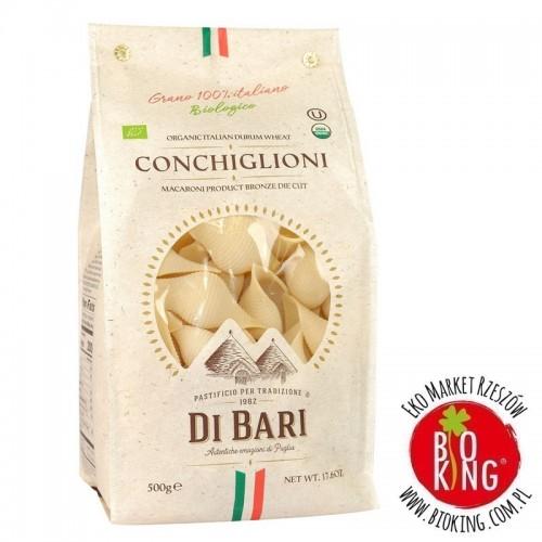 Makaron semolinowy conchiglioni bio Pastificio di Bari