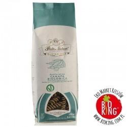 Makaron kurydziano-ryżowy z konopią fusilli bezglutenowy bio Pasta Natura