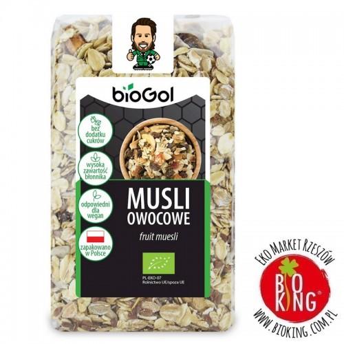 Musli owocowe ekologiczne bio Biogol