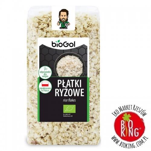 Płatki ryżowe ekologiczne bio Biogol