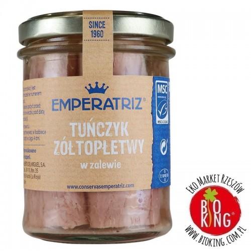 Tuńczyk żółtopłetwy w sosie własnym słoik Emperatriz