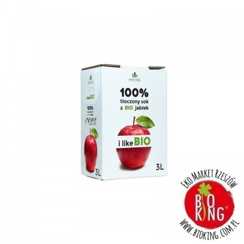 Sok jabłkowy NFC bio 3 L Dolina Czerska