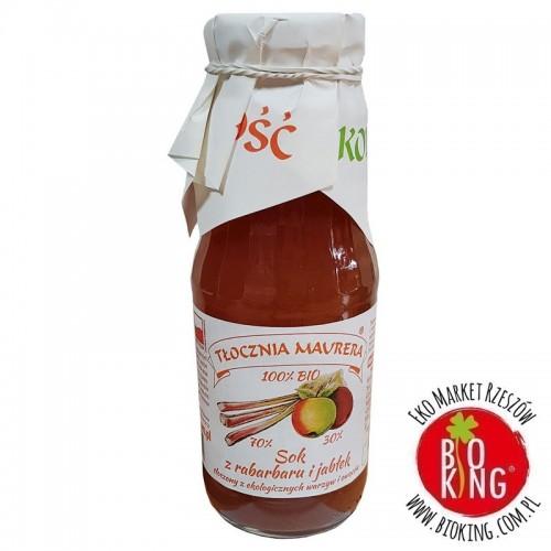 Sok rabarbarowy z jabłkiem NFC bio Tłocznia Maurera