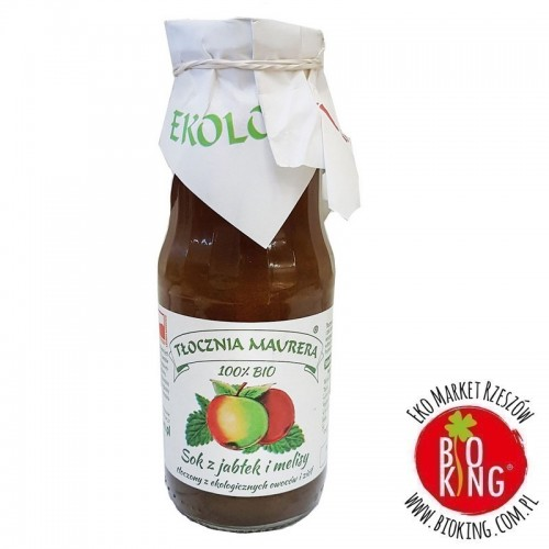 Sok jabłkowy z melisą NFC Tłocznia Maurera