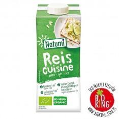 Zagęszczony produkt ryżowy do gotowania i pieczenia bio Natumi