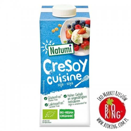 Zagęszczony produkt sojowy do gotowania i pieczenia bio Natumi