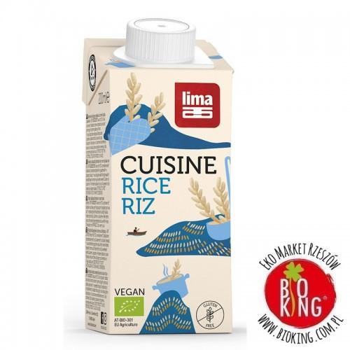 Zagęszczony produkt ryżowy bezglutenowy bio Lima