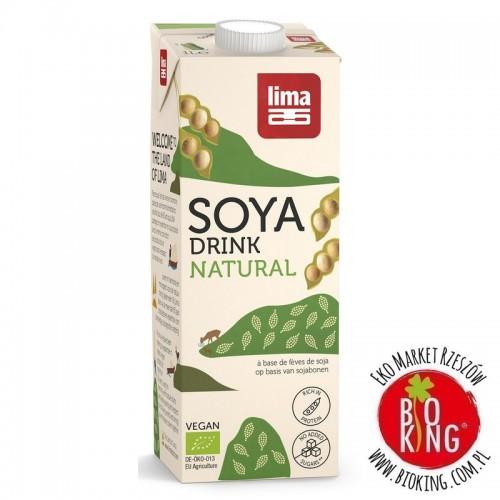 Napój sojowy bez dodatku cukrów bezglutenowy bio Lima