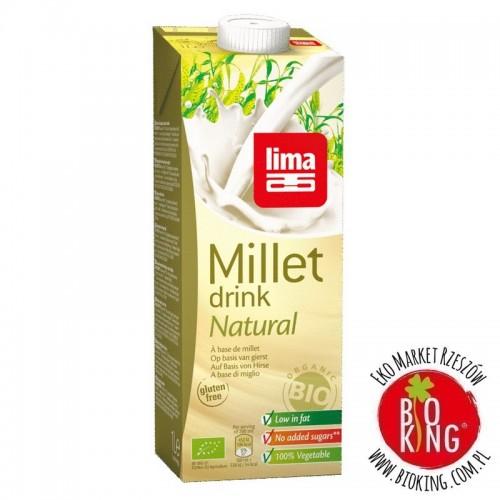 Napój jaglany bez dodatku cukrów bezglutenowy bio Lima