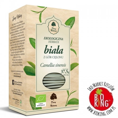 Herbata biała cejlońska bio Dary Natury