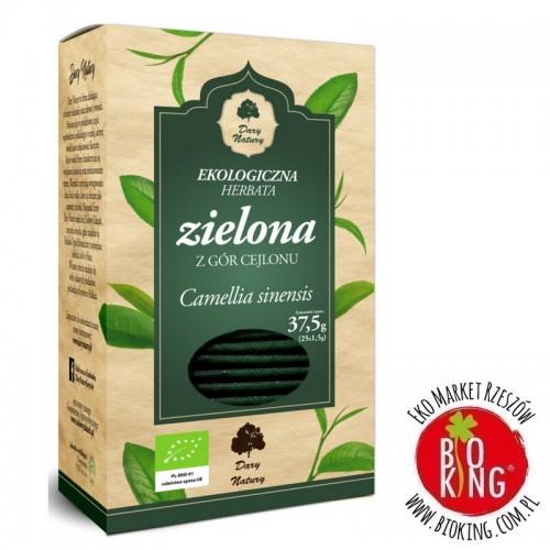 Herbata zielona bio ekologiczna Dary Natury