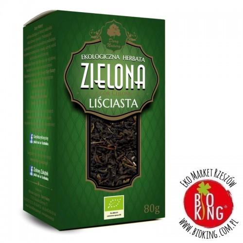 Herbata zielona liściasta bio Dary Natury