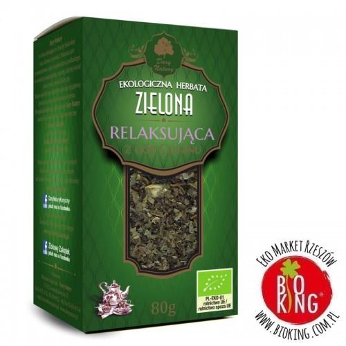 Herbata zielona relaksująca bio Dary Natury