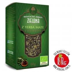 Herbata zielona z yerba mate bio Dary Natury