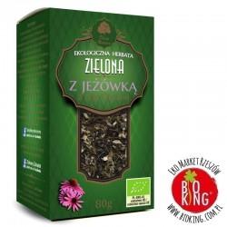 Herbata zielona z jeżówką bio Dary Natury