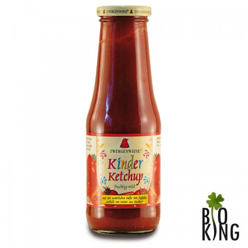 Ketchup dla dzieci - bez dodatku cukru