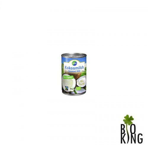 Kokosowa alternatywa mleka 18% tłuszczu bio Allfair