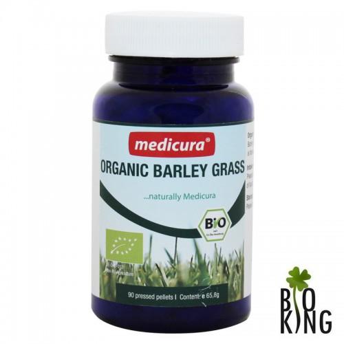 Jęczmień młody trawa w pastylkach  bio Medicura