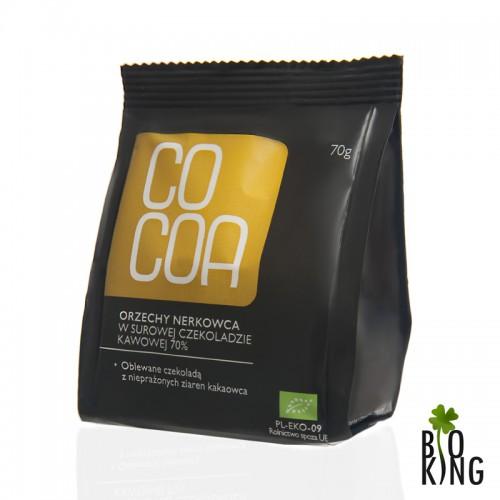 Orzechy Nerkowca w czekoladzie kawowej Bio - Cocoa