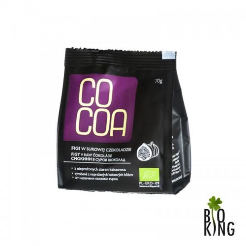 Figi w surowej czekoladzie 70% Bio - Cocoa
